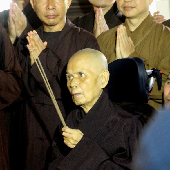 Thiền sư Thích Nhất Hạnh: Về nước để được sống nơi đất Tổ - Ảnh 5.
