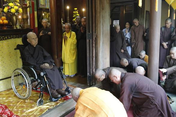 Thiền sư Thích Nhất Hạnh: Về nước để được sống nơi đất Tổ - Ảnh 6.