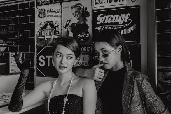 Kaity Nguyễn - Trịnh Thảo hóa thân chơi Halloween - Ảnh 2.