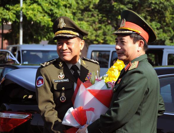Việt Nam - Campuchia đẩy mạnh tuần tra song phương, quản lý mốc giới - Ảnh 1.