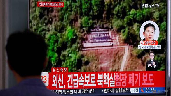 Hàn Quốc nói Triều Tiên đã sẵn sàng mời thanh sát viên quốc tế - Ảnh 1.