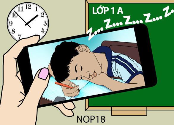 Bao giờ học sinh Việt được ăn ngủ, tập thể dục đúng nghĩa? - Ảnh 2.