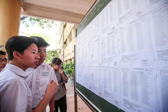 Sốt ruột chờ cấu trúc đề thi tuyển sinh lớp 10 tại Hà Nội - Ảnh 1.