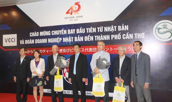 100 doanh nghiệp Nhật đi chuyên cơ tới Cần Thơ tìm cơ hội đầu tư - Ảnh 2.