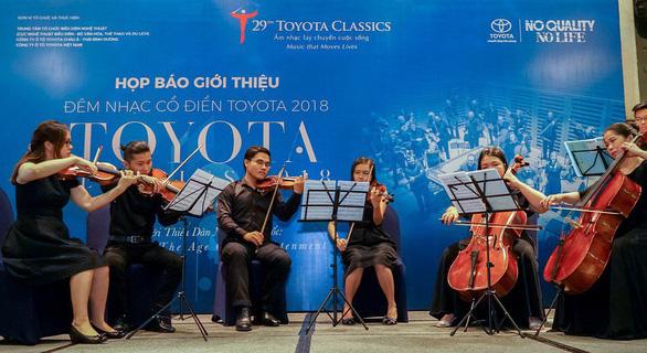 Dàn nhạc Anh quốc lần đầu đến với Hòa nhạc cổ điển Toyota - Ảnh 1.