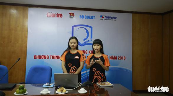 Chung khảo Tri thức trẻ vì giáo dục 2018 - Ảnh 4.