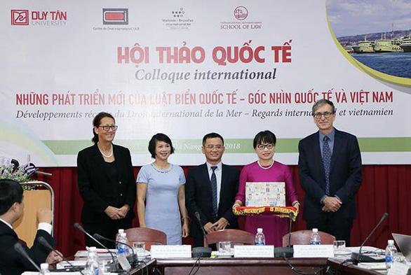 Hội thảo về Luật biển Quốc tế tại Đà Nẵng - Ảnh 1.