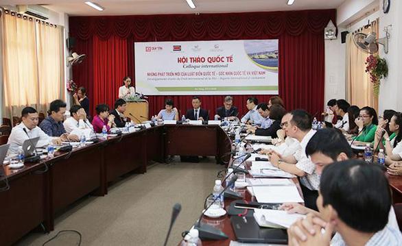 Hội thảo về Luật biển Quốc tế tại Đà Nẵng - Ảnh 2.