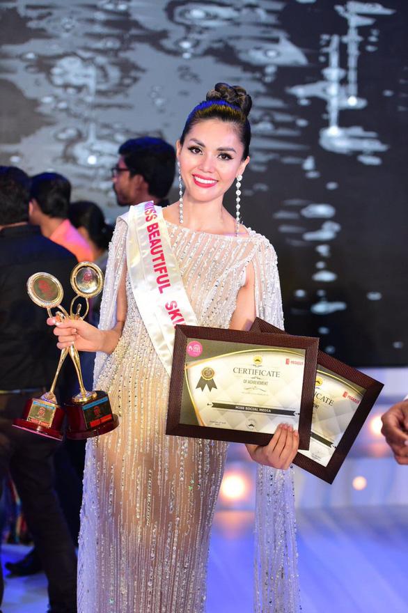 Kim Nguyên nhận danh hiệu Tân Hoa hậu châu Á Việt Nam 2018 - Ảnh 2.