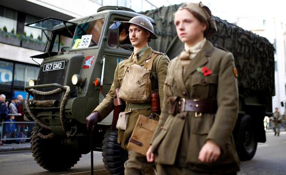 Thế giới bắt đầu kỷ niệm 100 năm kết thúc Thế chiến I - Ảnh 4.