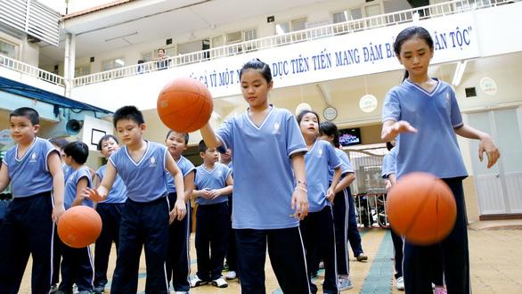 Thể dục học đường: cho học sinh tự chọn môn yêu thích - Ảnh 1.