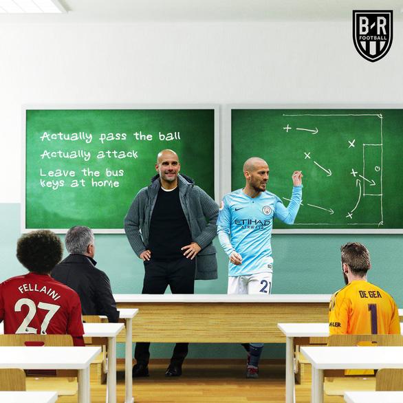 HLV Mourinho bị dân mạng chế giễu tơi tả sau trận thua Manchester City - Ảnh 4.