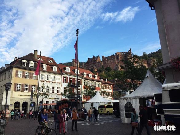 Theo chân du khách Việt khám phá thành phố cổ Heidelberg  - Ảnh 5.