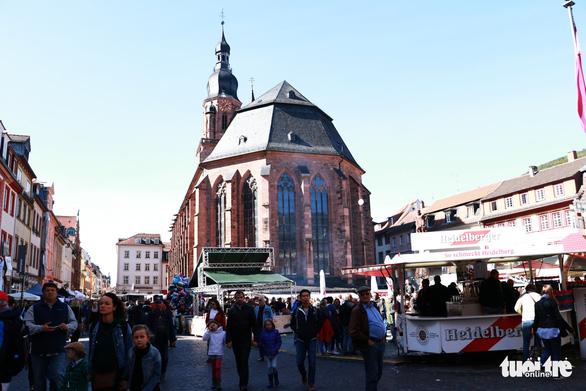 Theo chân du khách Việt khám phá thành phố cổ Heidelberg  - Ảnh 9.