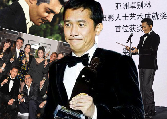 Lương Triều Vĩ trở thành ngôi sao châu Á đầu tiên đoạt giải thưởng Chaplin - Ảnh 1.