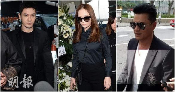 Tỉ phú Jack Ma và các nghệ sĩ đến dự tang lễ nhà văn Kim Dung - Ảnh 4.
