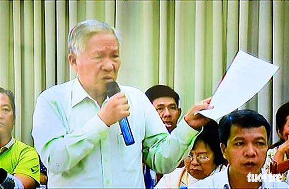 Chủ tịch TP.HCM tiếp dân Thủ Thiêm: Sửa sai, xử lý trách nhiệm - Ảnh 7.