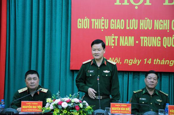 Giao lưu hữu nghị quốc phòng biên giới Việt Nam - Trung Quốc - Ảnh 1.