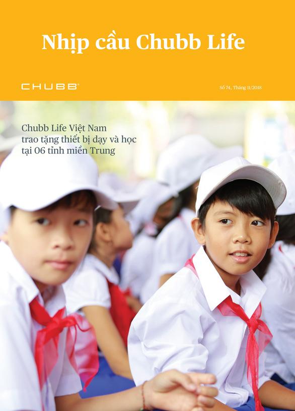 Chubb Life Việt Nam trao tặng thiết bị dạy và học tại 06 tỉnh miền Trung - Ảnh 8.