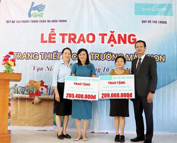Chubb Life Việt Nam trao tặng thiết bị dạy và học tại 06 tỉnh miền Trung - Ảnh 5.