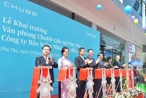 Chubb Life Việt Nam khai trương văn phòng kinh doanh mới tại Phú Thọ - Ảnh 1.