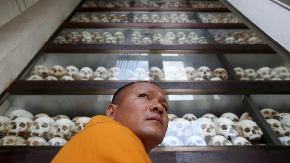 Lần đầu tiên các cựu thủ lĩnh Khmer Đỏ bị tuyên án diệt chủng - Ảnh 2.
