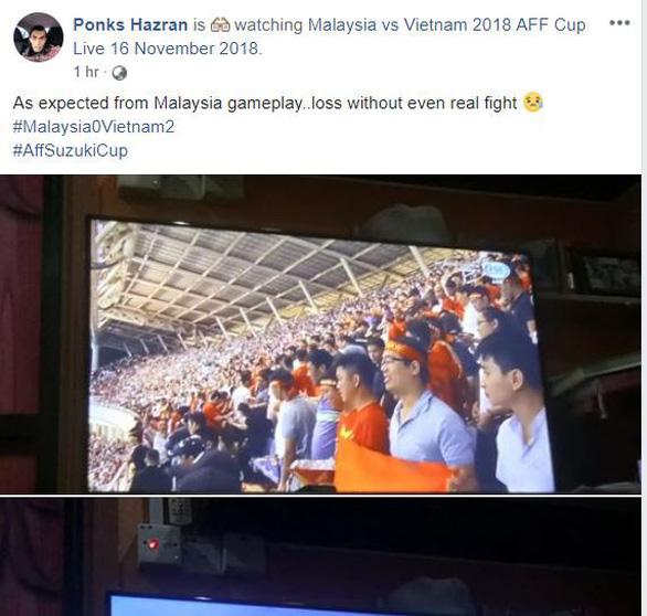 Cổ động viên Malaysia giận dữ vì thất bại của đội nhà - Ảnh 2.