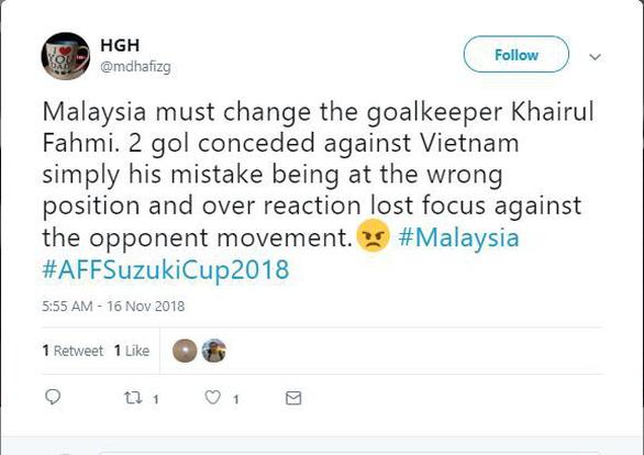 Cổ động viên Malaysia giận dữ vì thất bại của đội nhà - Ảnh 5.