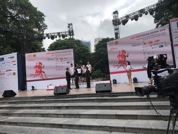 Giải chạy Kizuna Ekiden: Ngày hội thể thao vui vẻ - Ảnh 2.