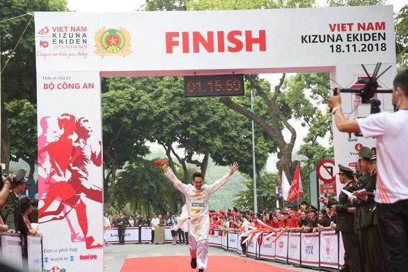 Giải chạy Kizuna Ekiden: Ngày hội thể thao vui vẻ - Ảnh 16.