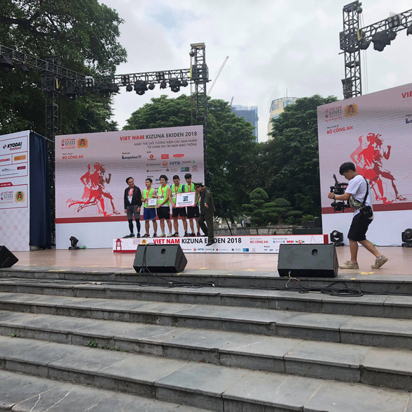 Giải chạy Kizuna Ekiden: Ngày hội thể thao vui vẻ - Ảnh 5.