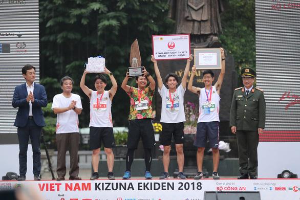 Giải chạy Kizuna Ekiden: Ngày hội thể thao vui vẻ - Ảnh 1.