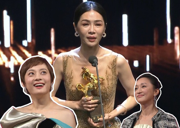Trương Nghệ Mưu đoạt giải Kim Mã, Củng Lợi bật khóc - Ảnh 7.