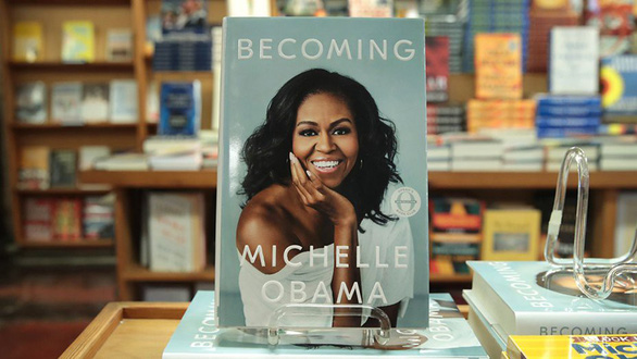 Hồi ký Becoming của Michelle Obama sẽ ra mắt bạn đọc VN - Ảnh 1.