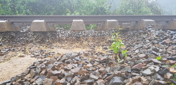 Tuyến đường sắt Bắc - Nam thông suốt sau nhiều giờ tê liệt - Ảnh 2.
