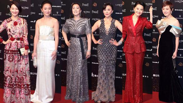 Dàn sao Trung Quốc và Đài Loan ăn miếng, trả miếng ở lễ trao giải Kim Mã - Ảnh 2.