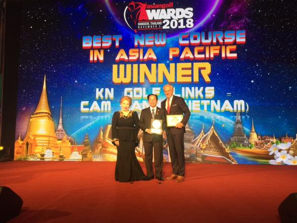 """KN Golf Links là """"Sân golf mới tốt nhất Châu Á 2018"""" - Ảnh 1."""