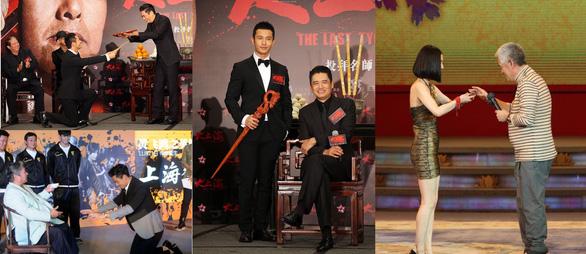 Ngày 20-11, xem Huỳnh Hiểu Minh, Bành Vu Yến… bái sư học nghệ - Ảnh 1.