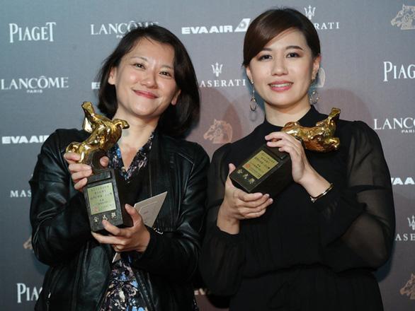 Dàn sao Trung Quốc và Đài Loan ăn miếng, trả miếng ở lễ trao giải Kim Mã - Ảnh 3.
