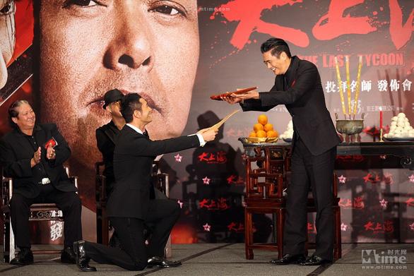 Ngày 20-11, xem Huỳnh Hiểu Minh, Bành Vu Yến… bái sư học nghệ - Ảnh 4.