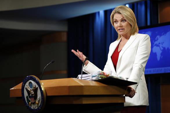 Phát ngôn viên Bộ Ngoại giao Mỹ có thể là đại sứ tại LHQ - Ảnh 1.