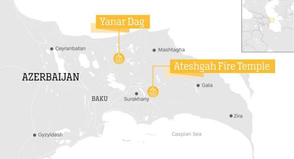 Khám phá những ngọn lửa bất diệt ở Azerbaijan - Ảnh 8.