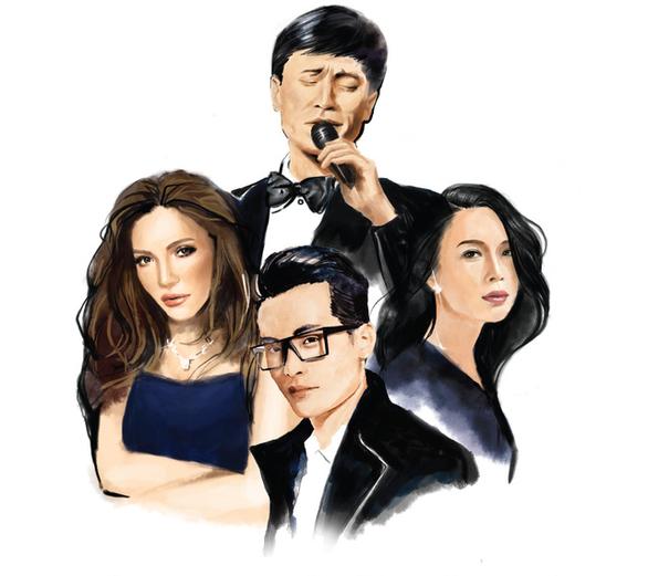 Tuấn Ngọc, Thanh Hà, Hà Anh Tuấn, Mỹ Tâm với The Master of Symphony - Ảnh 1.