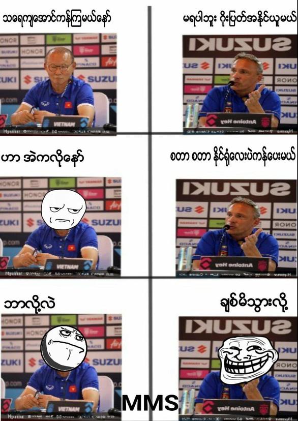 CĐV Myanmar troll tuyển VN - Ảnh 1.