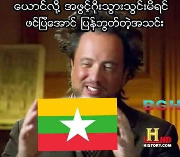 CĐV Myanmar troll tuyển VN - Ảnh 2.