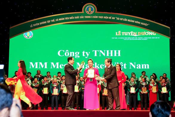 """MM Mega Market Việt Nam nhận giải thưởng """"Doanh nghiệp vì nhà nông"""" - Ảnh 1."""