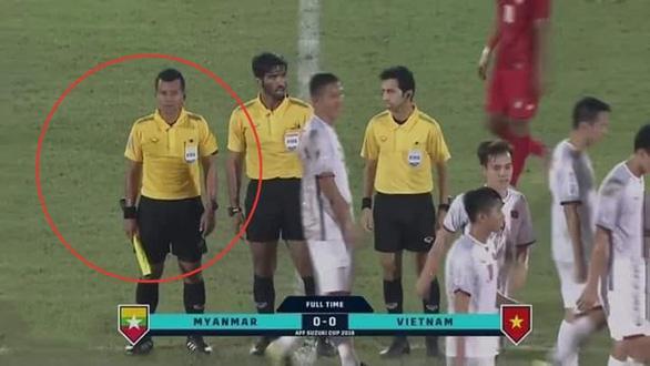 Myanmar bênh vực trọng tài, chỉ trích CĐV Việt Nam - Ảnh 1.