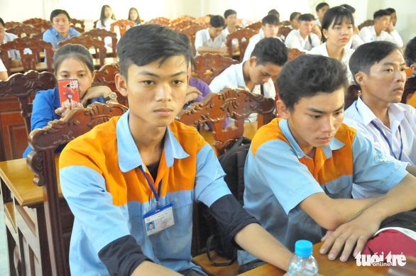 Tiếp sức đến trường cho 166 học sinh trường nghề ở ĐBSCL - Ảnh 2.