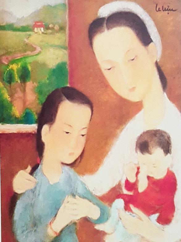 Xem tranh tại triển lãm Lê Thị Lựu - Ấn tượng hoàng hôn - Ảnh 9.