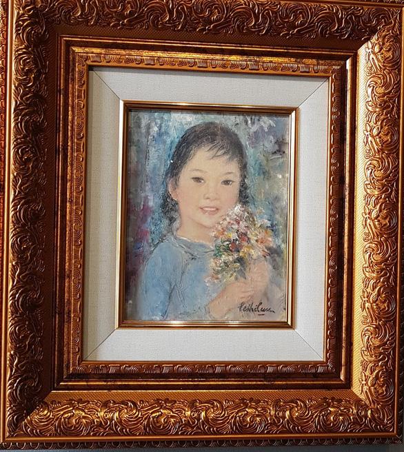 Xem tranh tại triển lãm Lê Thị Lựu - Ấn tượng hoàng hôn - Ảnh 11.